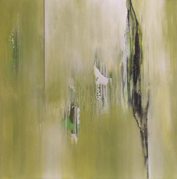 """Bild """"Nachmittags-Grün"""" von Renate Moser :: moser-art"""