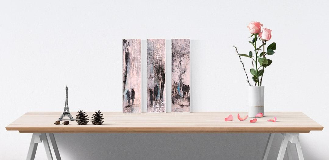 """""""Unterwegs"""" 3 Bilder von Renate Moser :: moser-art"""