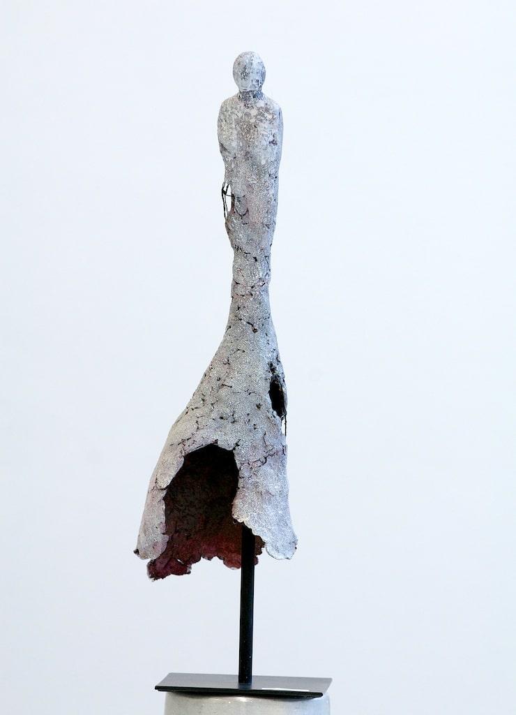 """Figurobjekt """"Die Freie"""" der Künstlerin Renate Moser"""