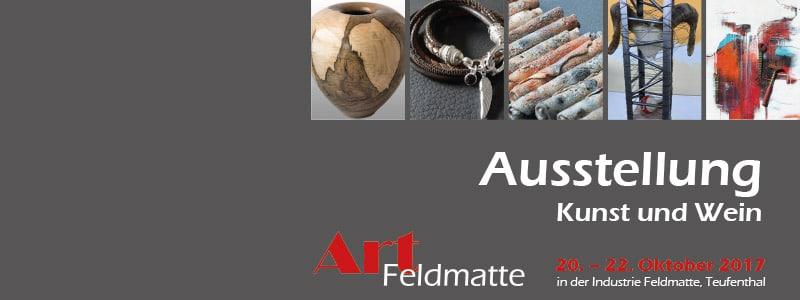 Art Feldmatte «Kunst und Wein» mit Renate Moser