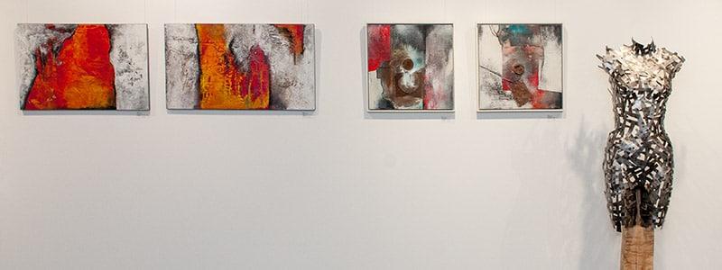 Bilder aus der Ausstellung «Art Feldmatte»