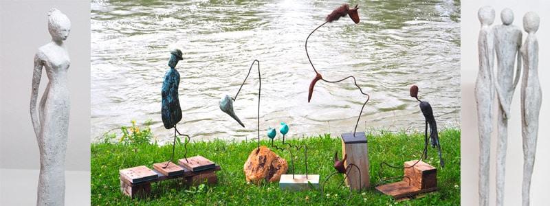 Erfolgreich Zementfiguren gestalten – Sommerkurs 2018 bei moser-art