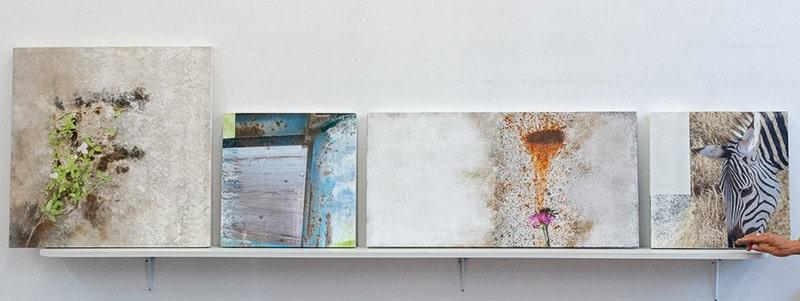 Bilder aus dem Kursweekend Fotografie und Malerei